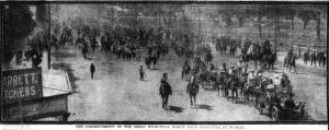 The start at Gilgandra (Daily Telegraph 12/10/1915)