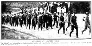 Reception at Hartley Vale (Sydney Mail 10/11/1915)
