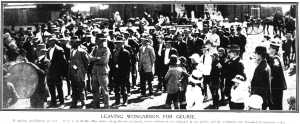 Leaving Wongarbon (Sydney Mail 20 Oct 1915)