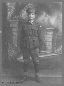 William Hilton Saunders (Photograph courtesy of Macquarie Regional Library)