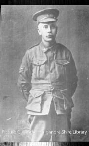 Bill Hitchen (Photograph courtesy of Gilgandra Shire Library)