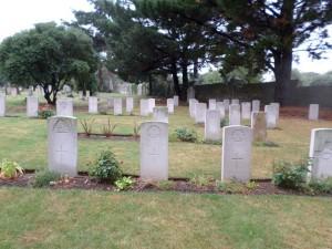 Melcombe Regis Cemetery (Photograph: S & H Thompson 25/8/2014)