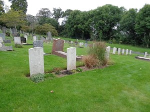 Plymouth (Efford) Cemetery (Photograph: S & H Thompson 24/8/2014)