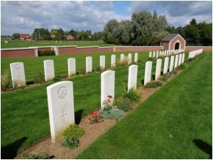 Fromelles (Pheasant Wood) Military Cemetery (Photograph: H. Thompson 1/9/2014)
