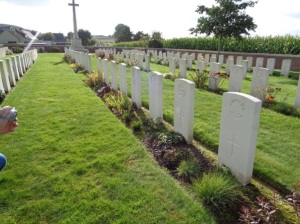 La Clytte Military Cemetery, Belgium (Photograph: H. Thompson 28/8/2014)