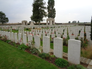 AIF Burial Ground, France (Photograph: H. Thompson 4/9/2014)