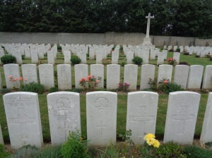 Terlincthun British Cemetery, France (Photograph: H. Thompson 5/9/2014)