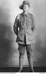 Bernard Coyte, ca. 1915 (Photograph: Australian War Memorial P09199.001)