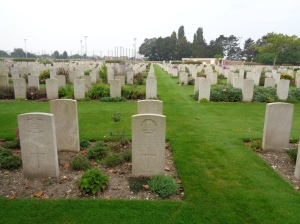 St. Sever Cemetery Extension, Rouen, France (Photograph: S. & H. Thompson 7/9/2014)