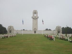 Villers-Bretonneux Memorial, France (PhotographL S. & H. Thompson, 5/9/2012)