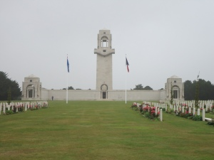 Villers-Bretonneux Memorial, France (PhotographL S. & H. Thompson, 5/9/2012)