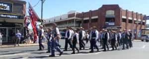 The start of the Coo-ee March 2015 Re-enactment at Gilgandra 17/10/2015