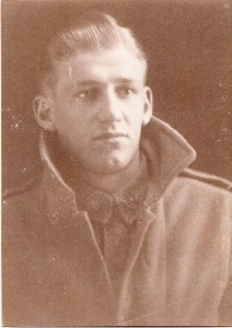Photograph of Donald Stewart. (Photograph courtesy of his daughter Norma Stewart).